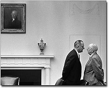 President Lyndon Johnson Candid 8x10 Silver Halide Photo Print