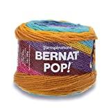Bernat POP!, 5oz, Guage 4 Medium, 100% Acrylic, Gold Rush River