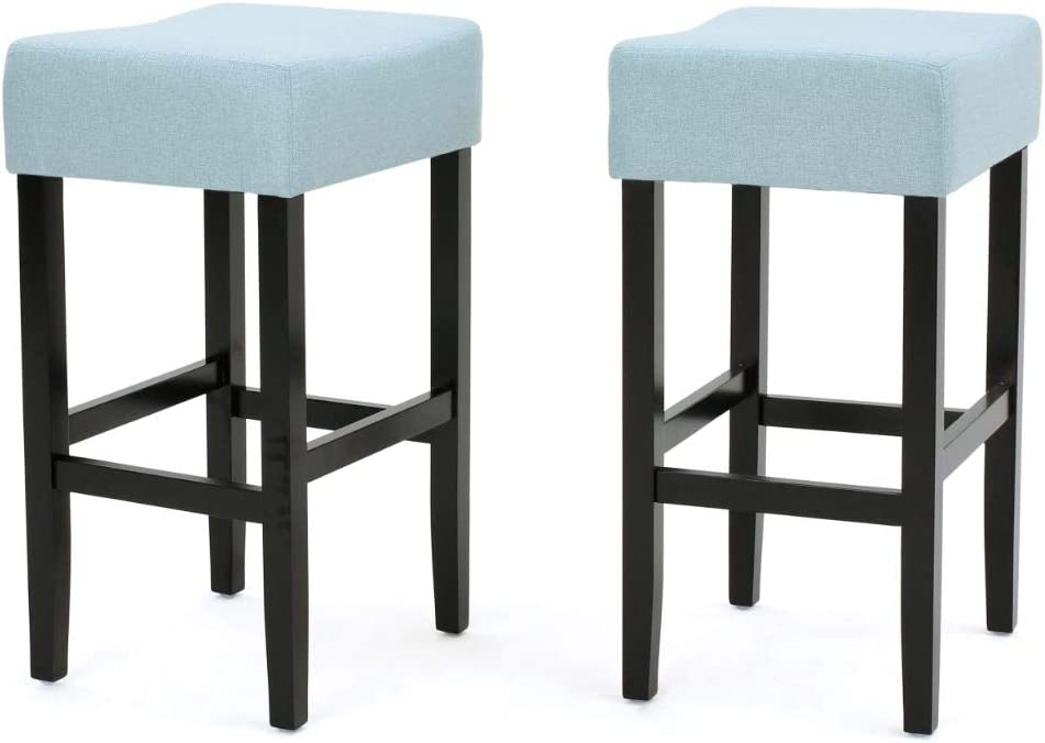 Spring new work Christopher Knight Home Lopez Fabric Reservation 2-P Backless Counterstools