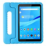 cradle HR Compatible Kids Protective New Hand stand Case for Lenovo Tab M8(TB-8705F) 8 Inch Tablet,EVA Light Weight Protective Case Shock Proof stand Cover (blue)