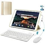 4G Call Tablette Tactile 10,1' 3Go RAM 32Go ROM/128Go Android 8.1 OTG 8500mAh Batterie - IPS HD 1280*800 Pixel Dual SIM WiFi FM...