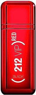 CAROLINA HERRERA 212 VIP Black Red Eau DE Parfum EDICION Limitada 100ML VAPORIZADOR Unisex Adulto ROJO Único