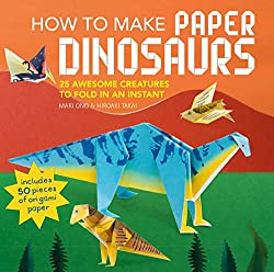 4. How to Make Paper Dinosaurs: 25 awesome creatures to fold in an instant