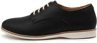 ROLLIE Derby Vegan Black Womens Shoes Flats Shoes