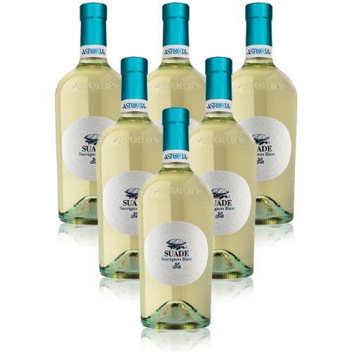 Suade Sauvignon IGT Veneto Astoria Italienischer Weißwein (6 flaschen 75 cl.)