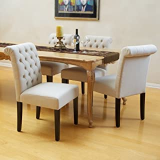 Christopher Knight Home Ivory Dining Chairs (Set Of 2), Natural