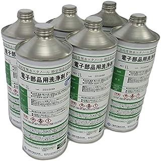 【無水エタノール】電子部品洗浄剤F-1 1L×6本(1ケース)三協化学 99.5% エタノール アルコール 無水アルコール IPA メタノール 代替 有機溶剤中毒予防規則