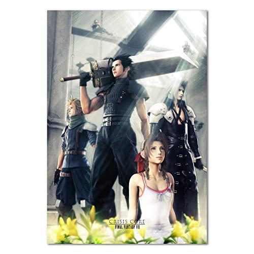 Printing Pira - Final Fantasy VII Crisis Core Official Art Poster (11x17)
