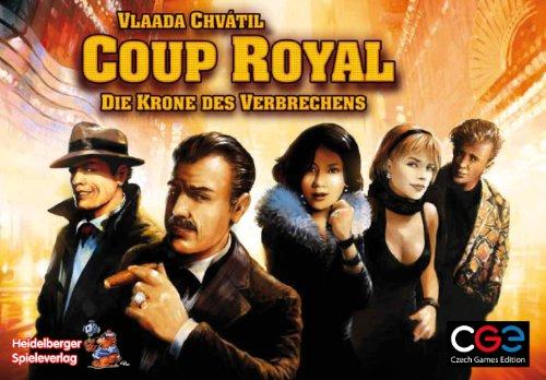 Heidelberger Spieleverlag CZ017 - Coup Royal: Die Krone des Verbrechens