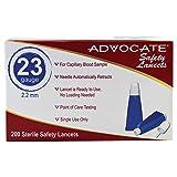 Advocate Safety Lancets 23G x 2.2mm