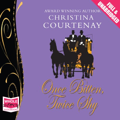 Once Bitten Twice Shy audiobook cover art