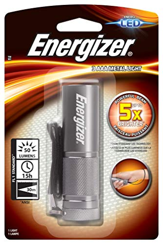 Energizer - 638842 SMALL METAL LIGHT 3AAA