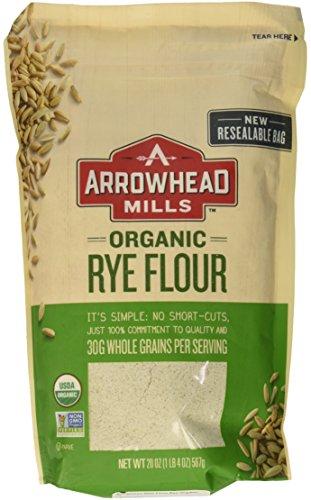 Arrowhead Mills Flour Rye Organic, 20 oz