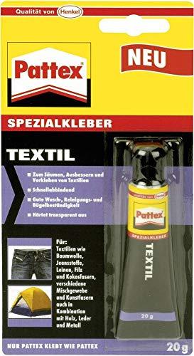 Pattex 1472397 Textilkleber, 20g Tube