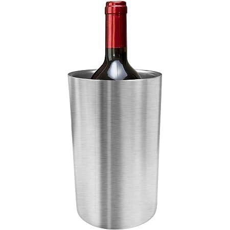 Nanmara ワインクーラー ステンレス 二重構造 12cm×19.5cm