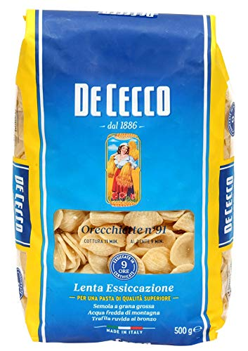 De Cecco Orecchiette 091, 500g
