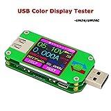FancyWhoop UM24C USB 2.0 Leistungsmesser Tester USB Multimeter Farbe LCD Display Spannung Strom...