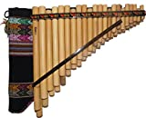 Pan Flute Zampona Chromatic 44 Pipes - Professional Instrument From Peru