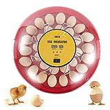 CO-Z Incubatrice da 30 Uova con Rotazione Automatica e Controllo dell'Umidità, Incubatrice per Uova da Cova con Termoregolatore per Uova di Pollo, Anatra, Quaglia e Altre Uova di Pollame