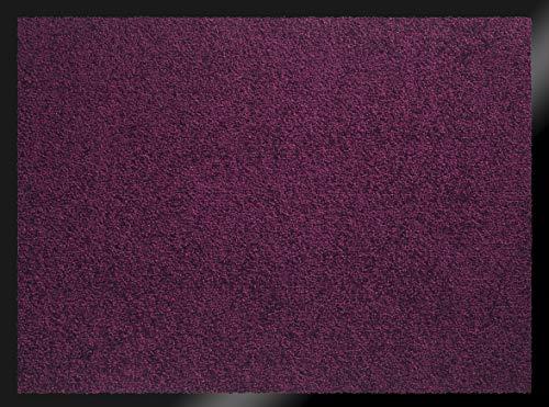 ID Mat 608013 Mirande Tapis Paillasson Fibre Nylon/PVC Caoutchouté Prune 80 x 60 x 0,9 cm