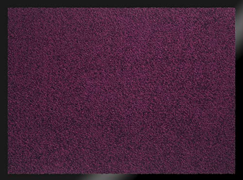 ID Mate 608013Mirande Alfombra Felpudo Fibra Nylon/PVC Recubrimiento Ciruela 80x 60x 0,9cm
