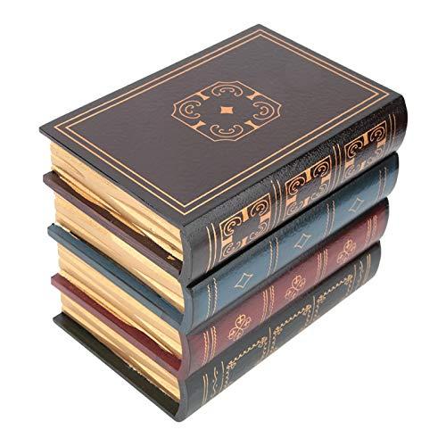 SONK Caja de Libros Falsos literarios, Caja de Libros Falsos Vintage Ligera, Apariencia artística Exquisita para decoración de estantes, Accesorios de fotografía(B Trumpet)