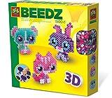 SES Creative - 06254 - Beedz - Tes Amis Les Animaux en 3D avec Perles À Repasser