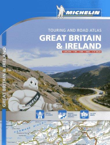 Atlas Great Britain & Ireland: Touring and Road Atlas (Atlas de carreteras Michelin)