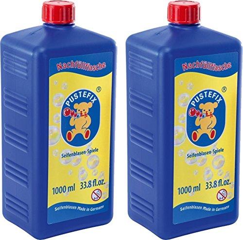 Pustefix 420869725 - Seifenblasen Nachfüllflasche Maxi 1000 ml (2er Pack)