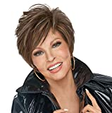 On Your Game Lace Front & Monofilament Part Synthetic Wig by Raquel Welch in RL6/8, Length: Short