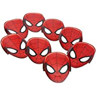 8-Count American Greetings Spider-Man Paper Masks
