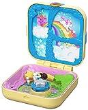 Polly Pocket Cofre Mundo sorpresa unicornios, muñeca con accesorios (Mattel GDK78) , color/modelo surtido
