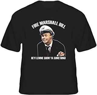 The Village T Shirt Shop in Living Color Fire Marshall Bill Funny T Shirt
