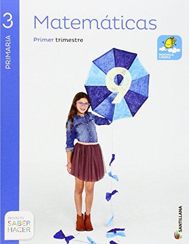 Matemáticas 3 Primaria, Saber Hacer, pack de 4 libros - 9788468012865