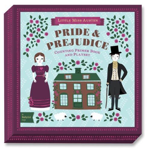 BabyLit Pride and Prejudice Counting Primer Board Book and Playset: Counting Primer Book and Playset