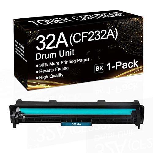 1-Pack (Black) 32A | CF232A Drum Unit Compatible Drum Cartridge Replacement for HP CF232A Drum Unit for HP Laserjet Pro M203dn M203dw M203d MFP M227sdn M227fdw M227fdn,Sold by SinaToner.
