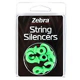 Zebra String Silencers Pack, Green by Zebra