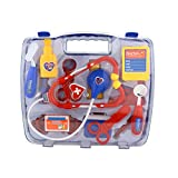 YASSON 15pc Arztkoffer Rollenspiel Doktor Set Rollenspiele Medizinische Doktor kit mit Stethoskop...