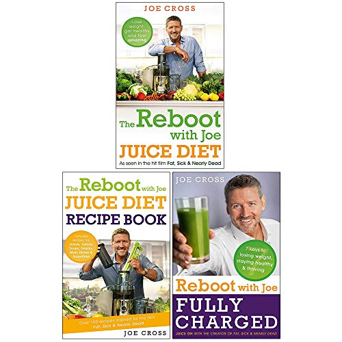 The Reboot with Joe Juice Diet 3 Books Collection Set ( The Reboot with Joe Juice Diet,The Reboot with Joe Juice Diet Recipe Book,Reboot with Joe Fully Charged)