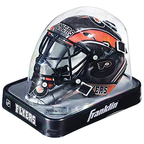 Franklin Sports Eishockey-Sammelartikel Torwart-Helm Mini, Design: Logo Einer NHL-Mannschaft, Unisex, 7784F09, Philadelphia Flyers, Einheitsgröße