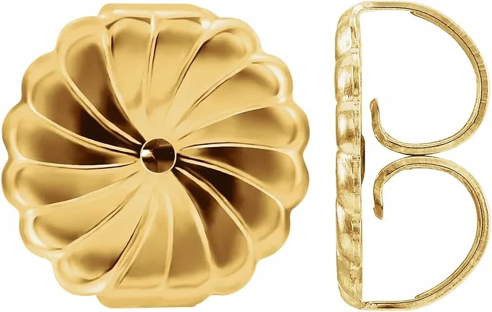 Viosi Earring Backs 14k Gold Premium Swirl Findings Backings Outlet SALE Sec Max 77% OFF