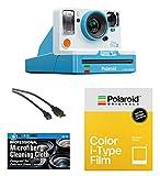 Polaroid Originals OneStep2 VF Instant Film Camera (Summer Blue) + Pack of Film + Microfiber Cloth