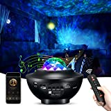 Janusoma Galaxy Projector Star Light Projector for Bedroom with Bluetooth Speaker, 10 Colors Changing Night Light Starry Light for Party Bedroom