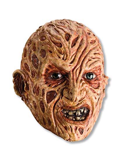 Rubie s A Nightmare on Elm Street Freddy Krueger Mask, Red, One Size
