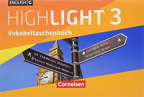 English G Highlight - Hauptschule: Band 3: 7. Schuljahr - Vokabeltaschenbuch