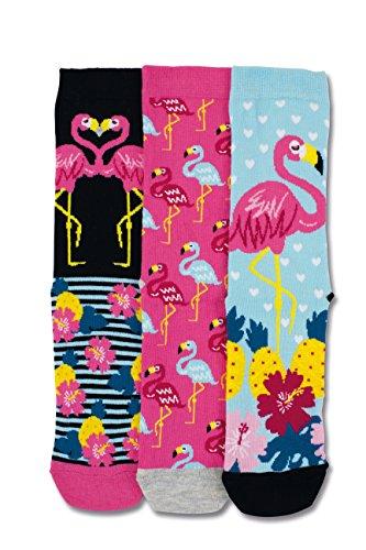 United Oddsocks - Damen Socken - Martha - Gr. 37 - 42 - Flamingo