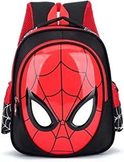 Kid's 3D 3-6 Year Old School Bags For Boys Waterproof Backpacks Child Spiderman Book bag Kids Shoulder Bag Satchel Knapsack