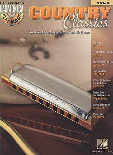 Harmonica Play-Along Volume 5: Country Classics: Play-Along, CD für Mundharmonika (diat./chr.)