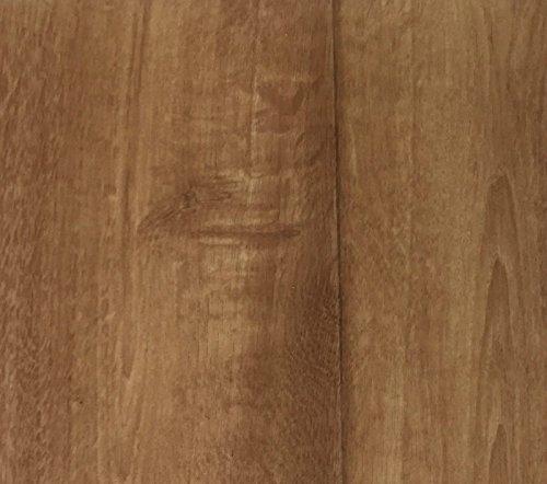 PVC Vinyl-Bodenbelag in Nussbaum Optik braun | CV PVC-Belag verfügbar in der Breite 200 cm & in der Länge 150 cm | CV-Boden wird in benötigter Größe als Meterware geliefert & robust