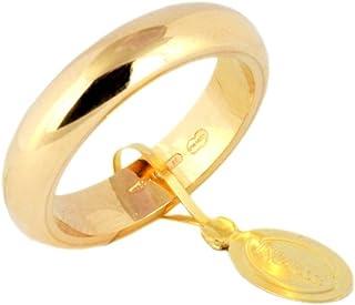 Fede Nuziale Unoaerre Classica da 10 grammi oro giallo 18kt